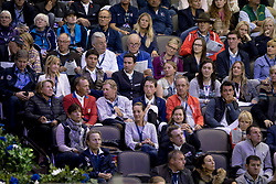 In the picture, Steve Guerdat, Martin Fuchs, Romain Duguet, Thomas Fuchs, Nick SKelton, etc.<br /> Round 2<br /> Longines FEI World Cup Jumping, Omaha 2017 <br /> © Hippo Foto - Dirk Caremans<br /> 01/04/2017