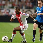NLD/Amsterdam/20060823 - Ajax - FC Kopenhagen, Ryan babel en William Kvist