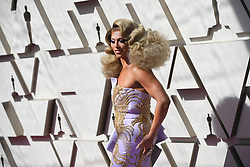 February 24, 2019 - Los Angeles, California, U.S - SHANGELA during red carpet arrivals for the 91st Academy Awards, presented by the Academy of Motion Picture Arts and Sciences (AMPAS), at the Dolby Theatre in Hollywood. (Credit Image: © Kevin Sullivan via ZUMA Wire)