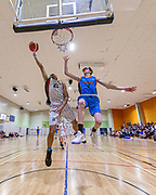 The Middleton Grange Gators overcame Shirley Boys High in the Thomson Trophy Semi final in overwhelming fashion with a resounding 109 - 62 win in their home gym. <br /> Canterbury Secondary Schools Basketball, Thomson Trophy Semi FInal<br /> Middleton Grange School Gymnasium<br /> August 20, 2019<br /> Photo Kevin Clarke CMGSPORT<br /> ©cmgsport<br /> www.cmgsport.co.nz
