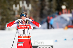 Kathrine Rolsted Harsem of Norway during 1.2 km Sprint Classic race at FIS Cross Country World Cup Planica 2018, on January 20, 2018 at Planica, Slovenia. Photo By Morgan Kristan / Sportida