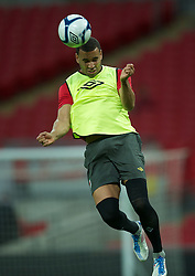 05.09.2011, Wembley Stadium, London, ENG, UEFA Euro 2012, Qualifier, England v Wales, Training, im Bild Wales' Hal Robson-Kanu during a training session at Wembley Stadium ahead of the UEFA Euro 2012 Qualifying Group G match against England, EXPA Pictures © 2011, PhotoCredit: EXPA/ Propaganda/ *** ATTENTION *** UK OUT!