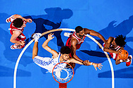 Nick Richards.<br /> <br /> The University of Kentucky men's basketball team beats Alabama 81-71, on Saturday, February 17, 2018 at Rupp Arena in Lexington, Ky.<br /> <br /> Photo by Elliott Hess   UK Athletics