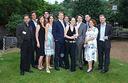 at the No Campaign's Summer Party - a celebration of the 'Non' and 'Nee' votes in the Europen referendum in France and The Netherlands held at The Peacock House, 8 Addison Road, London W14 on 5th July 2005.<br /><br />NON EXCLUSIVE - WORLD RIGHTS