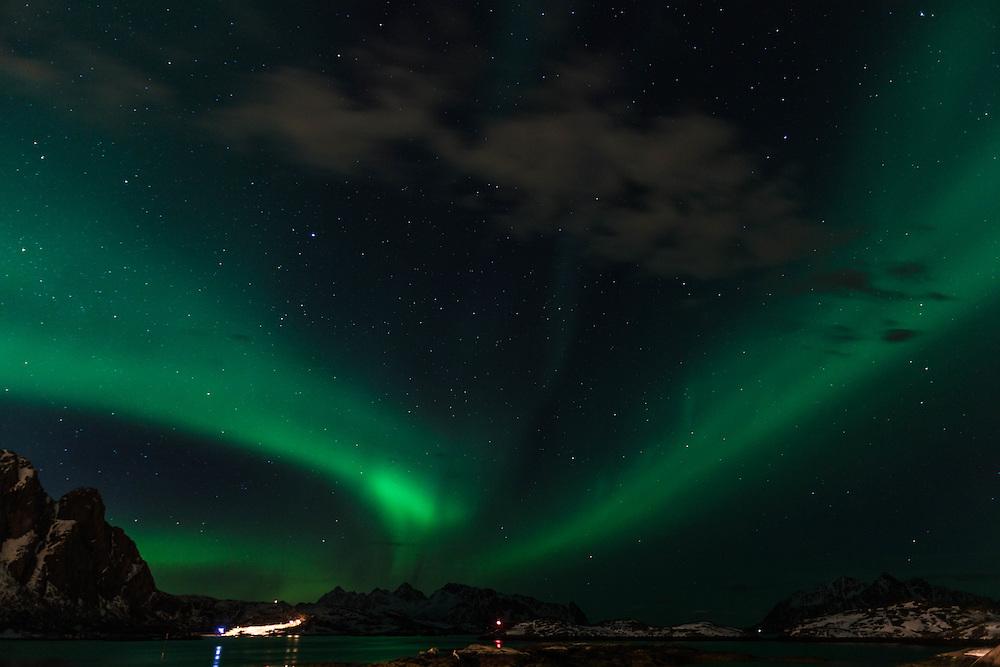 03 APR  2010 - Norvegia - Svolvær, Isole Lofoten - Aurora boreale :-: Norway - Svolvær,Lofoten Islands - Northern Lights