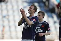 Tippeligaen 2012<br /> 12.08.2012<br /> Viking v Fredrikstad.<br /> <br /> Foto. Simon Rogers, Digital Sport.<br /> <br /> Viking. Yann Erik de Lanlay.<br /> Fredrikstad.