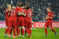 Esultanza Gol Thomas Muller Bayern Goal celebration <br /> Torino 23-02-2016 Juventus Stadium, Football Champions League 2015/2016 Round of 16 Juventus - Bayern Munich / Juventus - Bayern Monaco .  Foto Filippo Alfero / Insidefoto