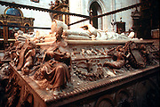 SPAIN, GRANADA CATHEDRAL Capilla Real, Ferdinand, Isabel tomb