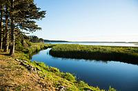 Floras Lake State Natural Area, Oregon.