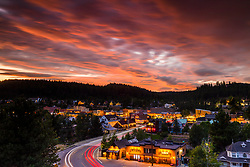 """""""Downtown Truckee 67"""" Photograph of Historic Downtown Truckee shot at sunset from near the Cottonwood restaurant."""