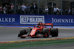 September 1, 2019, Francorchamps, Belgium: CHARLES LECLERC of Scuderia Ferrari during the Formula 1 Belgian Grand Prix at Circuit de Spa-Francorchamps in Francorchamps, Belgium. (Credit Image: © James Gasperotti/ZUMA Wire)
