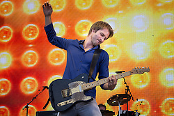 © Licensed to London News Pictures . 08/08/2015 . Siddington , UK . CHESNEY HAWKES on stage at The Rewind Festival of 1980s music , fashion culture at Capesthorne Hall in Macclesfield . Photo credit: Joel Goodman/LNP