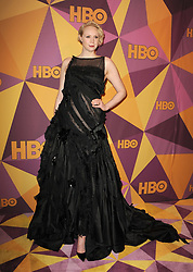 Gwendoline Christie at the HBO's 2018 Official Golden Globe Awards After Party held at the Circa 55 Restaurant in Beverly Hills, USA on January 7, 2018. (Photo by Lumeimages/Sipa USA)