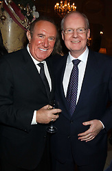 Left to right, ANDREW NEIL and MURDOCH McLENNAN at The Business Winter Party hosted by Andrew Neil at The Ritz Hotel, Piccadilly, London on 7th December 2005.<br /> <br /> NON EXCLUSIVE - WORLD RIGHTS
