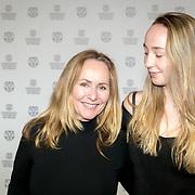 NLD/Rotterdam/20180124 - Openingsfilm IFFR 2018, premiere Jimmy, Angela Groothuizen en dochter Lola