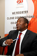PRETORIA - 16 Setember 2010 - Lungile Dukwana, the acting chief executive of the Companies and Intellectual Property Registration Office (Cipro) outlines security measures to be taken to prevent the unauthorised changing of company directors. The measures follow an incident where a company Kalahari Resources found that it's directors had been removed. All companies in South Africa have to register with Cipro..Picture: Giordano Stolley/APP