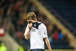 Falkirk's Conor McGrandles. Falkirk 0 v 5 Aberdeen, the third round of the Scottish League Cup.<br /> ©Michael Schofield.