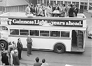 Dublin GAA Football Final team visit Guinness. 7.9.1979.  7th September 1979