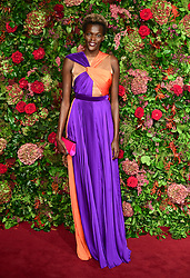 Sheila Atim attending the Evening Standard Theatre Awards 2018 at the Theatre Royal, Drury Lane in Covent Garden, London