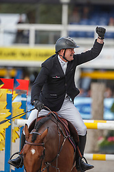 De Bock Valentijn (BEL) - Homer de Reve<br /> Final 7 years<br /> FEI World Breeding Jumping Championships for Young Horses - Lanaken 2014<br /> © Dirk Caremans