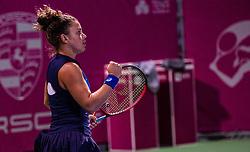 PORTOROZ, SLOVENIA - SEPTEMBER 18: Jasmine Paolini of Italy during the finals of WTA 250 Zavarovalnica Sava Portoroz at SRC Marina, on September 19, 2021 in Portoroz / Portorose, Slovenia. Photo by Nik Moder / Sportida
