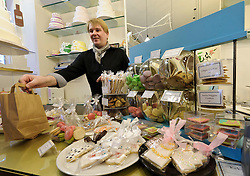 Cologne, Germany, Jan. 2012 - Unwind with a marzipan treat and an espresso at Madame Miammiam, the neighborhoods beloved bakery and café (Antwerpener Strasse 39; 49-221-271-9242; madamemiammiam.de). (Photo © Jock Fistick).