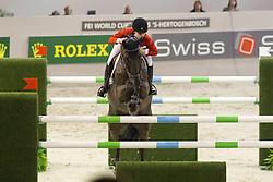 Spadone Michelle (USA) - Uwwalon<br /> Rolex FEI World Cup ™ Jumping Final <br /> 'S Hertogenbosch 2012<br /> © Dirk Caremans