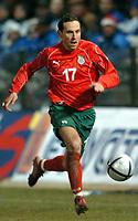 Fotball<br /> Privatlandskamp<br /> Hellas v Bulgaria<br /> 18. februar 2004<br /> Foto: Digitalsport<br /> Norway Only<br /> <br /> MARTIN PETROV  (BUL *** Local Caption *** 40001060