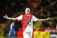 Andrea RAGGI - 01.02.2015 - Monaco / Lyon - 23eme journee de Ligue 1 -<br />Photo : Eric Gaillard / Icon Sport