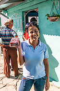 Guyaba bars, held by a young woman, ready to take home or on a trip! (Florida, Camagüay Province, Cuba).