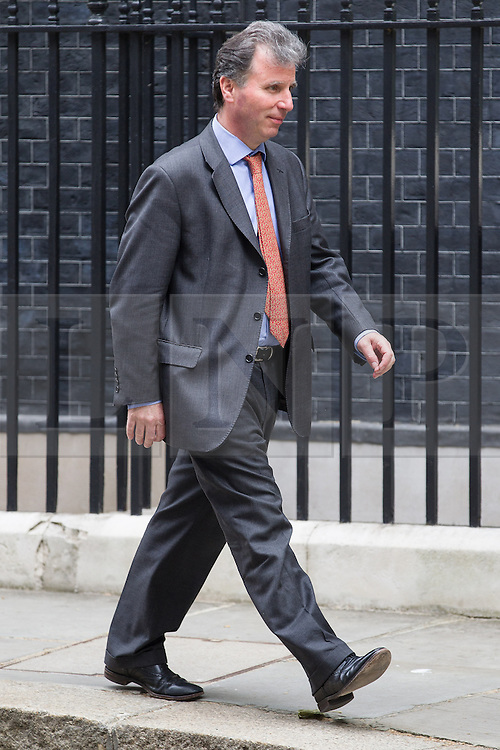 © Licensed to London News Pictures . 12/06/2013 . London , UK .  Minister of State at the Cabinet Office , OLIVER LETWIN , leaves 10 Downing Street this morning (Wednesday 12th June) ahead of Prime Minister's Questions . Photo credit : Joel Goodman/LNP
