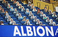 Football - 2019 / 2020 Premier League - Brighton & Hove Albion vs Manchester City<br /> <br /> <br /> Cardboard cut outs of the Brighton fans in the stands   , at the Amex Stadium<br /> <br /> COLORSPORT/ANDREW COWIE