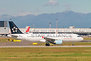 Austrian Airlines star alliance Airbus A320-200 (OE-LBX) at Milan - Linate Italy