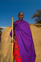Maasai tribe, Manyatta village, Ngorongoro Conservation Area, Tanzania
