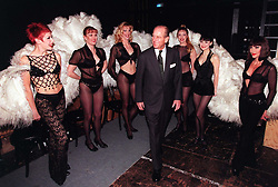 File photo dated 04/03/99 of the Duke of Edinburgh meeting the West End musical 'Chicago' cast in London. The Duke of Edinburgh has died, Buckingham Palace has announced. Issue date: Friday April 9, 2020.. See PA story DEATH Philip. Photo credit should read: John Stillwell/PA Wire