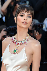 """Emily Ratajkowski attends the """"Ismael's Ghosts (Les Fantomes d'Ismael)"""" & Opening Gala Red Carpet Arrivals - The 70th Annual Cannes Film Festival. 17 May 2017 Pictured: Emily Ratajkowski. Photo credit: kilmax / MEGA TheMegaAgency.com +1 888 505 6342"""