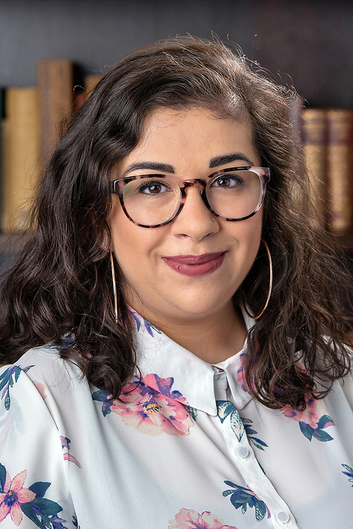 Photo by Mara Lavitt<br /> February 25, 2019<br /> Stiles College, Yale University, New Haven<br /> <br /> Members of the Yale Center for Race, Indigeneity, and Transnational Migration at Yale University. Monique Flores Ulysses.