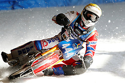 13.03.2016, Assen, BEL, FIM Eisspeedway Gladiators, Assen, im Bild Igor Kononov (RUS) // during the Astana Expo FIM Ice Speedway Gladiators World Championship in Assen, Belgium on 2016/03/13. EXPA Pictures © 2016, PhotoCredit: EXPA/ Eibner-Pressefoto/ Stiefel<br /> <br /> *****ATTENTION - OUT of GER*****