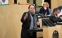 DEU, Deutschland, Germany, Berlin, 21.09.2018: Die neue Umweltministerin in Nordrhein-Westfalen, Ursula Heinen-Esser (CDU), während ihrer ersten Rede im Bundesrat.
