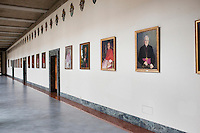 ROME, ITALY - 6 MARCH 2013: A wing of the Pontifical North American College with portraits withportraits of its protectors, in Rome, Italy, on March 6, 2013. ..The Pontifical North American College is a Roman Catholic educational institution that forms seminarians for priestly ministry in the dioceses in the United States and that provides a residence for American priests pursuing graduate studies...Gianni Cipriano for The New York Times10139468AROME, ITALY - MARCH 10: U.S. Cardinal Timothy Dolan of New York City arrives at the Our Lady of Guadalupe church in the Monte Mario district where he is the titular head to give a Sunday Mass, in Rome, Italy, on March 10, 2013. Cardinals are set to enter the conclave to elect a successor to Pope Benedict XVI after he became the first pope in 600 years to resign from the role. The conclave is scheduled to start on March 12 inside the Sistine Chapel and will be attended by 115 cardinals as they vote to select the 266th Pope of the Catholic Church...Gianni Cipriano for The New York Times