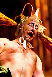 Varekai é um espetáculo do circo Cirque du Soleil. O diretor do espetáculo, Dominic Champagne, descreve-o como uma homenagem à alma nômade. O espetáculo conta a história de Ícaro, que ao voar muito alto rumo ao sol, tem suas asas derretidas, caindo assim no mundo mágico de Varekai. É um dos espetáculos mais ricos em danças e roupas do Cirque. FOTO: Emmanuel Denaui/ Agência Preview
