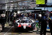 June 10-16, 2019: 24 hours of Le Mans. 8 TOYOTA GAZOO RACING, TOYOTA TS050 - HYBRID, Sébastien BUEMI, Kazuki NAKAJIMA, Fernando ALONSO