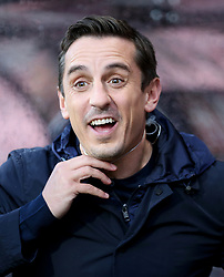 Sky Sports commentator Gary Neville before the game between  Bournemouth and Brighton and Hove Albion