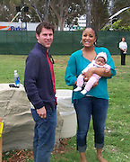Laila Ali and daughter Sydney J. Conway..2011 Celebrity Picnic Sponsored By Disney, Time For Heroes, To Benefit The Elizabeth Glaser Pediatric AIDS Foundation - Inside..Wadsworth Theater Lawn..Los Angeles, CA, USA..Sunday, June 12, 2011..Photo By CelebrityVibe.com..To license this image please call (212) 410 5354; or.Email: CelebrityVibe@gmail.com ;.website: www.CelebrityVibe.com