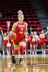 NORMAL, IL - December 04: Kasey Kidwell during a college women's basketball game between the ISU Redbirds  and the Austin Peay Governors on December 04 2018 at Redbird Arena in Normal, IL. (Photo by Alan Look)