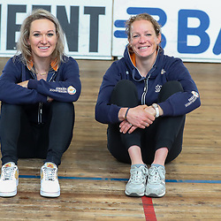 19-02-2020: Wielrennen: persmoment KNWU: Alkmaar<br />Kirsten Wild en Amy Pieters klaar voor het WK in Berlijn