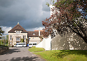 Entrance driveway to St Mary's Girls School, Calne Wiltshire, England