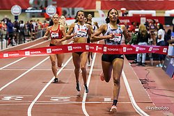 2020 USATF Indoor Championship<br /> Albuquerque, NM 2020-02-15<br /> photo credit: © 2020 Kevin Morris<br /> womens 800m final, adidas