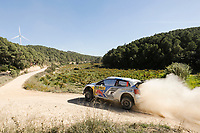 09 Volkswagen Motorsport Ii, Mikkelsen Andreas, Floene Ola, Volkswagen Polo Wrc, Action during the 2014 WRC World Rally Car Championship, rally of Spain from October 23th to 326th, at Salou, Spain. Photo Richard Puyane / DPPI