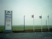 Js Steak House along the A47 on the 29th April 2010 in Thorney Toll in the United Kingdom.